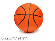 Купить «Баскетбольный мяч», фото № 1191811, снято 12 мая 2007 г. (c) Elnur / Фотобанк Лори