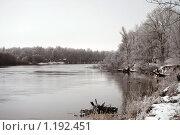 Купить «Река», фото № 1192451, снято 14 декабря 2008 г. (c) Овсяник Анна Владимировна / Фотобанк Лори