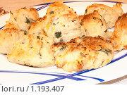Картофельные пирожки. Стоковое фото, фотограф Николай Истомин / Фотобанк Лори