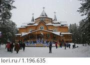 Купить «Резиденция Деда Мороза под Великим Устюгом», фото № 1196635, снято 6 января 2006 г. (c) Елена Серебрякова / Фотобанк Лори