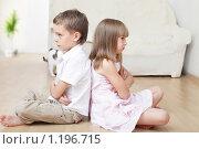 Купить «Дети в ссоре», фото № 1196715, снято 5 октября 2009 г. (c) Гладских Татьяна / Фотобанк Лори