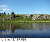 Летний пейзаж на реке. Стоковое фото, фотограф Дмитрий / Фотобанк Лори