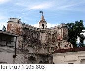 Пятницкая башня Архиерейского двора в Вологде (2009 год). Редакционное фото, фотограф Екатерина Туркина / Фотобанк Лори