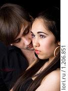 Купить «Портрет молодой пары», фото № 1206851, снято 12 апреля 2009 г. (c) Сергей Сухоруков / Фотобанк Лори