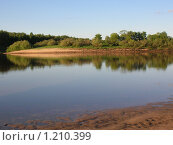 Река Ветлуга. Стоковое фото, фотограф Шеронова Марина / Фотобанк Лори