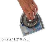 Купить «Зажать деньги», фото № 1210775, снято 4 ноября 2009 г. (c) Бузун Максимилиан / Фотобанк Лори
