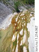 Горная река. Стоковое фото, фотограф Алексей Головин / Фотобанк Лори