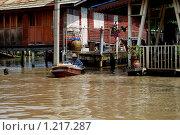 Купить «Наводнение Таиланд», фото № 1217287, снято 10 ноября 2006 г. (c) Катя Белякова / Фотобанк Лори