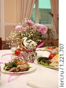 Купить «Сервировка», фото № 1221707, снято 15 ноября 2009 г. (c) Андрей Багаев / Фотобанк Лори