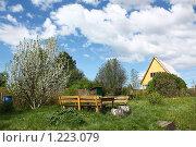 Купить «Дачный участок весной», фото № 1223079, снято 31 мая 2009 г. (c) Анастасия Семенова / Фотобанк Лори