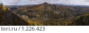 Вид на Малый Ямантау с хребта Караташ. Башкирия. Южный Урал. Стоковое фото, фотограф хлебников алексей / Фотобанк Лори