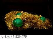 Купить «Новогодние украшения», фото № 1226479, снято 20 ноября 2009 г. (c) Asja Sirova / Фотобанк Лори