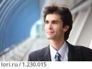 Купить «Портрет бизнесмена», фото № 1230015, снято 12 июня 2009 г. (c) Losevsky Pavel / Фотобанк Лори