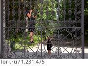 """Купить «Музей-усадьба """"Архангельское"""". Фотография на память», фото № 1231475, снято 28 июня 2009 г. (c) Юрий Синицын / Фотобанк Лори"""