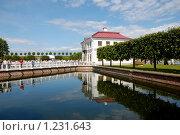 Дворец Марли, Нижний парк, Петергоф (2007 год). Редакционное фото, фотограф Моисеева Галина / Фотобанк Лори