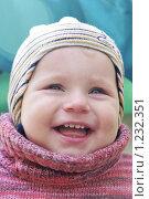 Купить «Портрет смеющегося мальчика в свитере», фото № 1232351, снято 22 октября 2018 г. (c) Sergey Toronto / Фотобанк Лори