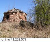Разрушенное старое здание. Стоковое фото, фотограф Наталья Камайкина / Фотобанк Лори