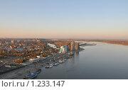 Купить «Река Обь, город Барнаул», эксклюзивное фото № 1233147, снято 1 октября 2009 г. (c) Free Wind / Фотобанк Лори