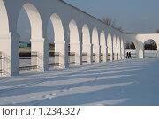Аркада Гостиного Двора - Ярославово Дворище (Великий Новгород) (2009 год). Стоковое фото, фотограф Ярослава Синицына / Фотобанк Лори
