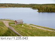Купить «Соловецкие острова. Святое озеро.», фото № 1235043, снято 11 сентября 2009 г. (c) Михаил Ворожцов / Фотобанк Лори