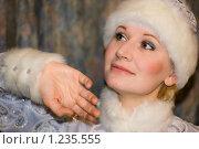 Снегурочка. Стоковое фото, фотограф Кузнецов Сергей / Фотобанк Лори