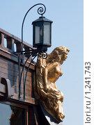 Купить «Крылатая дева. Украшение на борту парусника», эксклюзивное фото № 1241743, снято 8 августа 2009 г. (c) Александр Щепин / Фотобанк Лори