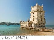 Купить «Лиссабон, Португалия, форт Белем», фото № 1244719, снято 14 сентября 2009 г. (c) Дмитрий Яковлев / Фотобанк Лори