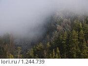 Туман. гора Малый Ямантау. Айгир. Башкирия. Южный Урал. Стоковое фото, фотограф хлебников алексей / Фотобанк Лори