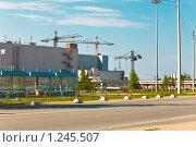 Ленинградская атомная электростанция (ЛАЭС) Сосновый Бор (2009 год). Редакционное фото, фотограф Куликов Константин / Фотобанк Лори