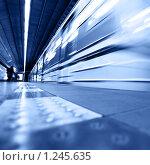 Купить «Поезд», фото № 1245635, снято 7 октября 2009 г. (c) Роман Сигаев / Фотобанк Лори