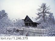 Старый дом. Стоковое фото, фотограф Дмитрий Жеглов / Фотобанк Лори