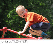 Купить «Портрет мальчика», фото № 1247831, снято 10 июня 2009 г. (c) Землянникова Вероника / Фотобанк Лори