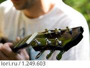 Купить «Гитарный гриф», фото № 1249603, снято 27 июня 2009 г. (c) Анна Лурье / Фотобанк Лори