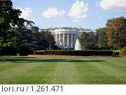 Белый дом. Вашингтон (2008 год). Стоковое фото, фотограф Дмитрий Поляков / Фотобанк Лори