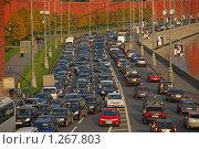 Купить «Кремлевская набережная», эксклюзивное фото № 1267803, снято 13 октября 2009 г. (c) lana1501 / Фотобанк Лори