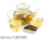 Купить «Зеленый чай», фото № 1267891, снято 22 июня 2009 г. (c) Наталия Евмененко / Фотобанк Лори