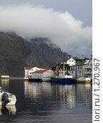 Город на Фьорде (2009 год). Стоковое фото, фотограф Зоя Степанова / Фотобанк Лори