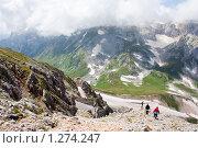 Купить «Горный пейзаж», фото № 1274247, снято 15 августа 2009 г. (c) Алексей Букреев / Фотобанк Лори