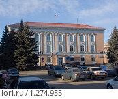 Купить «Тольяттинская городская Дума», фото № 1274955, снято 9 декабря 2009 г. (c) Дудакова / Фотобанк Лори
