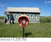 Купить «Домик в деревне», фото № 1275751, снято 7 июня 2009 г. (c) Сергей Зубов / Фотобанк Лори