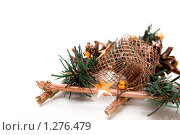 Купить «Новогоднее украшение», фото № 1276479, снято 8 декабря 2009 г. (c) Asja Sirova / Фотобанк Лори