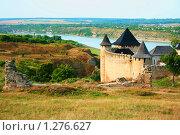 Крепость в Хотине. Украина (2009 год). Стоковое фото, фотограф Марина Рябущиц / Фотобанк Лори