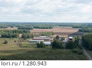 Полевой стан фермерского хозяйства. Стоковое фото, фотограф Николай Истомин / Фотобанк Лори