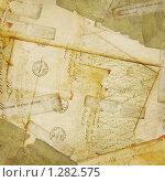 Фон из старых писем, телеграмм и конвертов. Стоковая иллюстрация, иллюстратор Lora Liu / Фотобанк Лори
