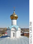 Купол храма в Суздале (2009 год). Стоковое фото, фотограф Ирина Золина / Фотобанк Лори
