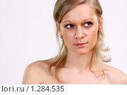 Купить «Макияж», фото № 1284535, снято 25 января 2009 г. (c) Андрей Аркуша / Фотобанк Лори
