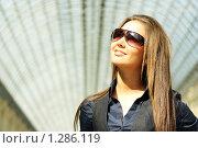 Девушка в солнечных руках. Стоковое фото, фотограф Андрей Аркуша / Фотобанк Лори