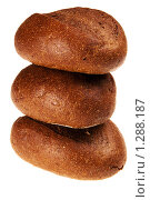 Три булочки. Стоковое фото, фотограф Дмитрий Смиренко / Фотобанк Лори