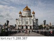 Храм Христа Спасителя (2009 год). Редакционное фото, фотограф Дмитрий Сушкин / Фотобанк Лори