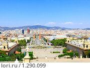 Купить «Площадь  Испании,  Барселона», фото № 1290099, снято 27 августа 2008 г. (c) Vitas / Фотобанк Лори